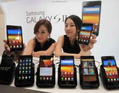 Новый Android для смартфона Samsung Galaxy S II