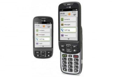 Смартфоны Fujitsu для пожилых людей