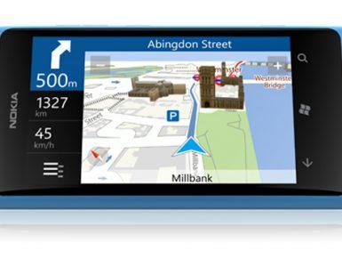 Приложение Nokia Drive 2.0