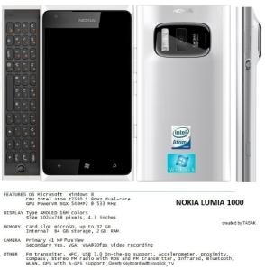 Смартфон Nokia Lumia 1000