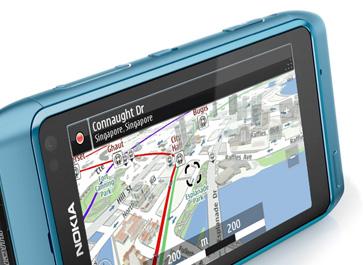 Сервис Nokia Maps