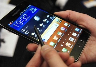 Смартфоны-гиганты Samsung Galaxy Note и HTC Sensation XL