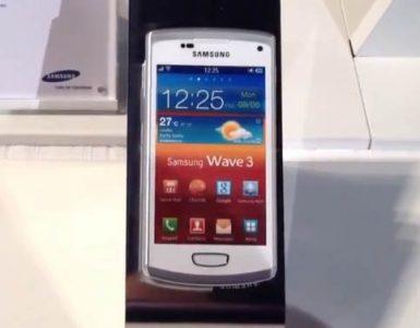 Смартфон Samsung Wave 3