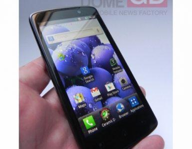 Прототип смартфона LG Optimus LTE P936