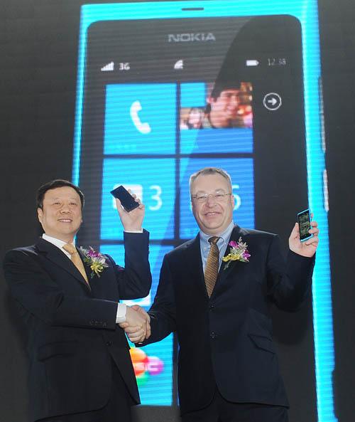 Анонс Nokia 800C