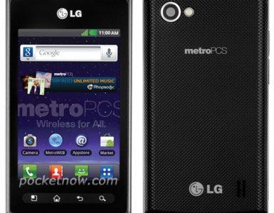 Смартфон LG Optimus M+