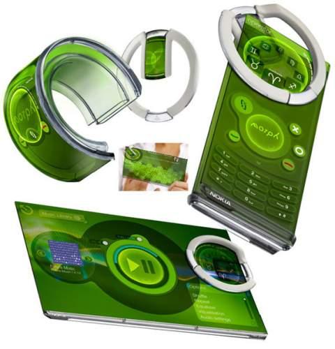 Концепт телефона Nokia Morph