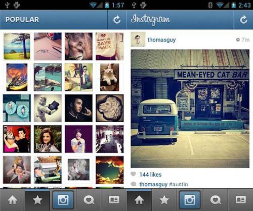 Социальная сеть Instagram