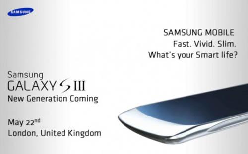 Анонс Samsung Galaxy S III