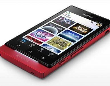 Sony Xperia с AMOLED-дисплеем