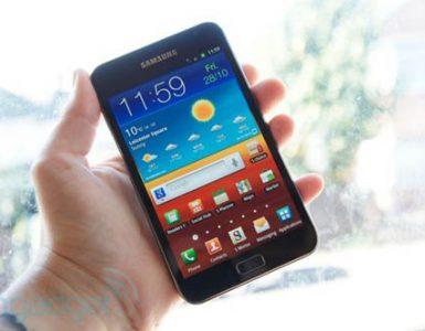 Samsung Galaxy смартфон