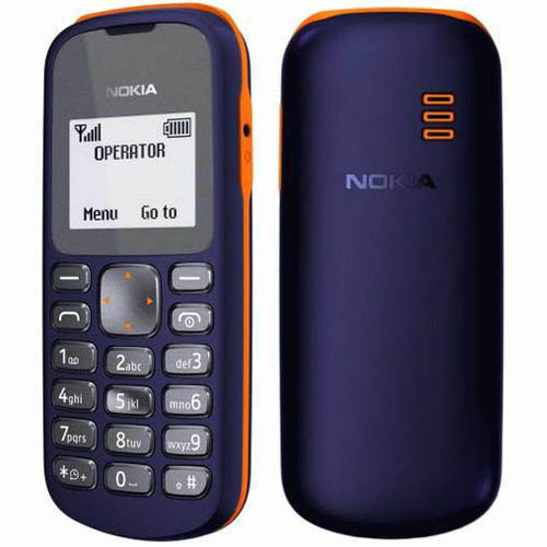 Анонс сверхбюджетного сотового телефона Nokia 103