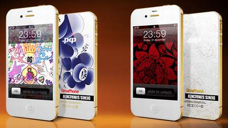 Смартфон SimaPhone 4S .РФ