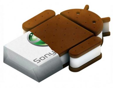 Android 4.0 Ice Cream Sandwich для смартфонов Sony Xperia