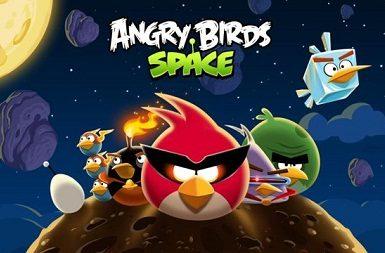 Приложение Angry Birds Space