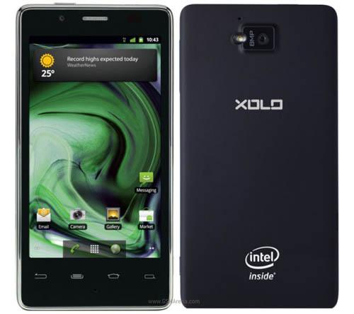 Смартфон Lava Xolo X900 с процессором Intel Atom