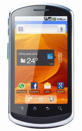 Новый смартфон Huawei U8820