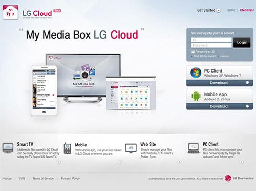 Облачный сервис от компании LG находится на стадии бета-тестирования