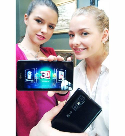 Анонс смартфона LG Optimus 3D Max в России