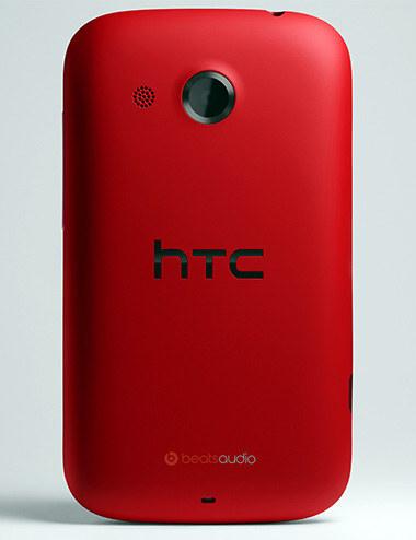 Тыльная сторона HTC Desire C