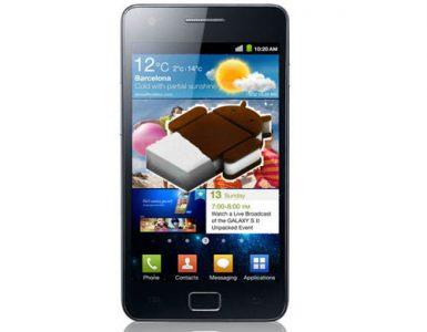 Samsung Galaxy S II с Android 4.0 Ice Cream Sandwich