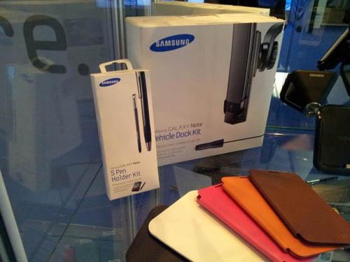 Упаковка Samsung Galaxy Note 10.1