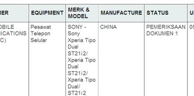Документация по Sony Xperia Tipo Dual
