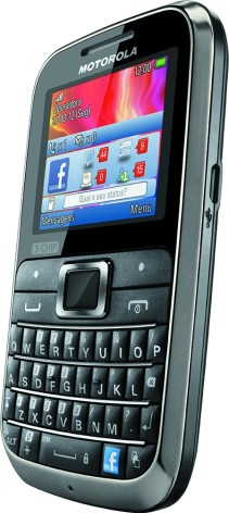 Анонс телефона Motorola MOTOKEY 3-CHIP