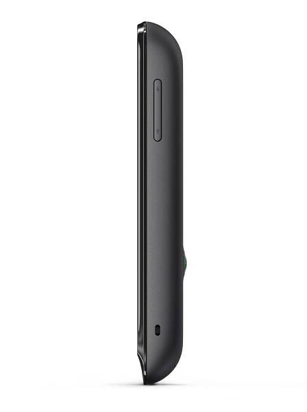 Sony Xperia tipo dual: вид сбоку