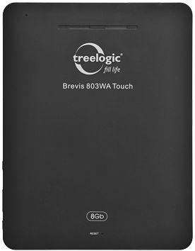 Тыльная сторона Treelogic Brevis 803WA Touch