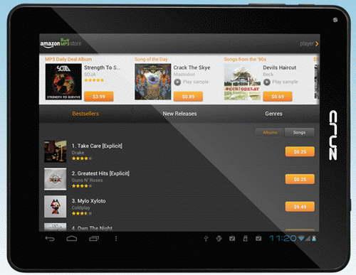 Стартовали продажи бюджетного планшета Velocity Micro Cruz T510