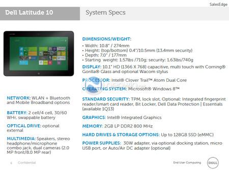 Dell Latitude 10: график 3