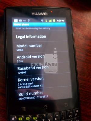 Huawei M660: увеличенный вид