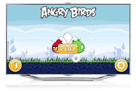 Angry Birds для Samsung Smart TV