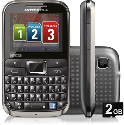 Анонс сотового телефона Motorola Motokey EX117