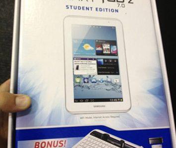 Samsung Galaxy Tab 2 (7.0) Student Edition