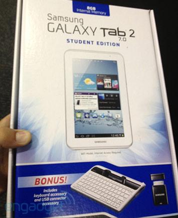 Старт продаж Samsung Galaxy Tab 2 (7.0) Student Edition в США