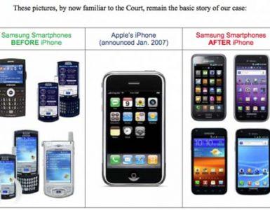 Aplle против Samsung
