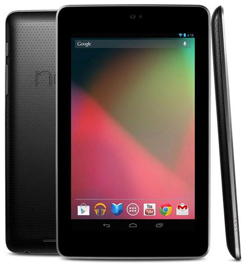 Старт продаж Google Nexus 7 в Европе состоится 3 сентября