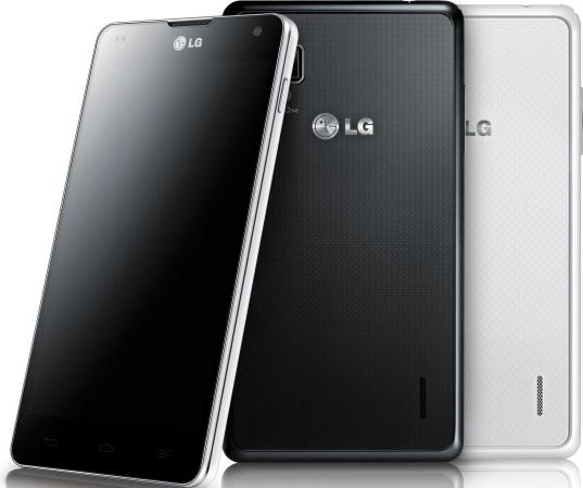 Анонс смартфона LG Optimus G