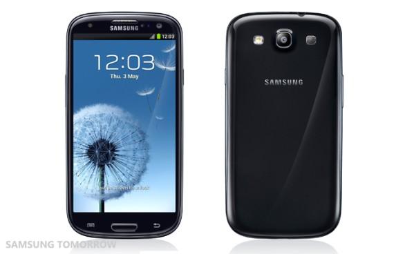 Чёрный Samsung Galaxy S3