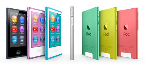 Анонс обновленных плееров iPod Nano и iPod shuffle