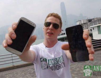 iPhone 5 и Samsung Galaxy S III