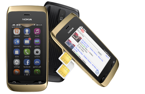 Анонс тачфонов Nokia Asha 308 и Asha 309