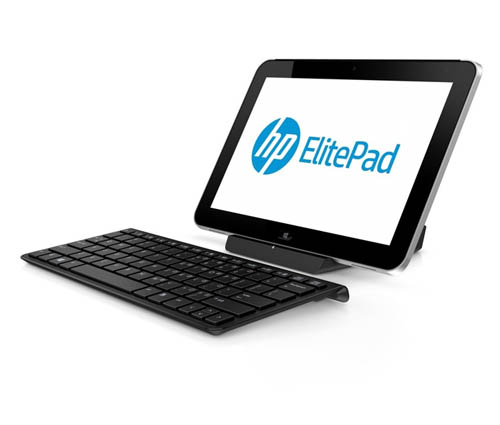 HP ElitePad 900 с док-станцией