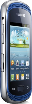 Samsung Galaxy Music: вид сбоку