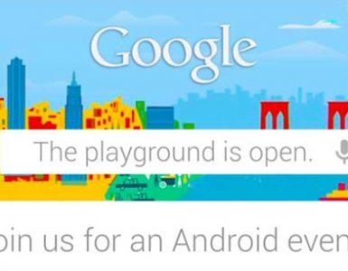 Google проведёт презентацию Android-устройств