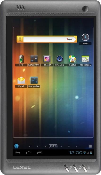 Анонс планшета teXet TM-7041