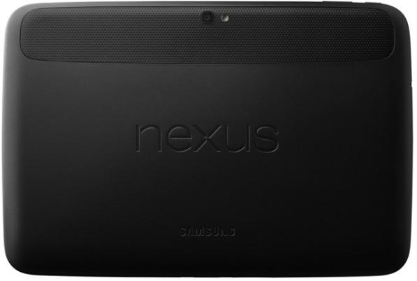 Google Nexus 10: вид задней крышки