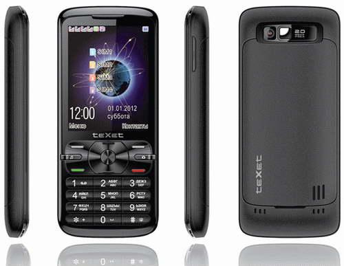 Анонс телефона teXet TM-420 в России